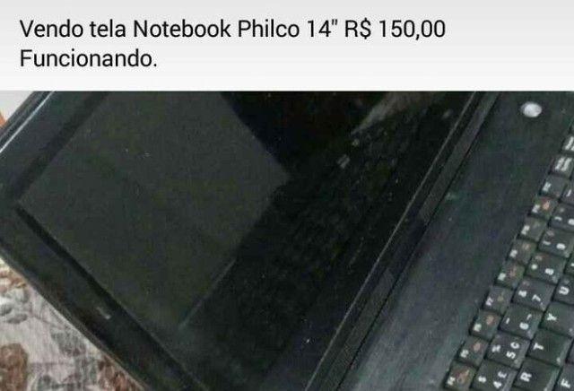 Tela not Philco e Memoria 2gb