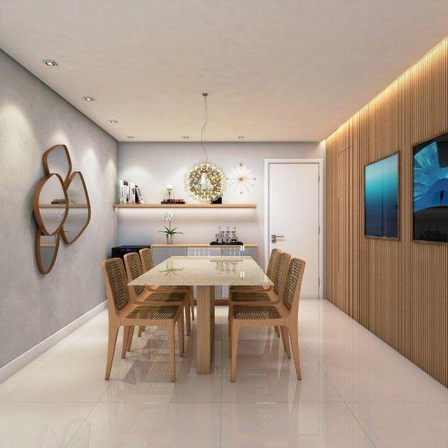Apartamento à venda, 120 m² por R$ 703.800,00 - Pedra - Eusébio/CE - Foto 4