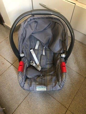 Carrinho Burigotto Primus com bebê conforto e base de carro - Foto 6