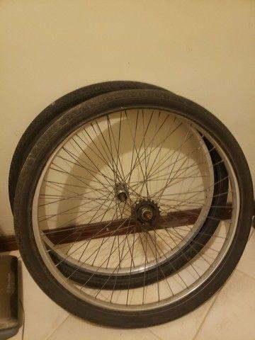 Rodas da barra circular ou monarque