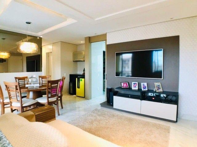 Apartamento com 83m, todo projetado no Terraço das Flores