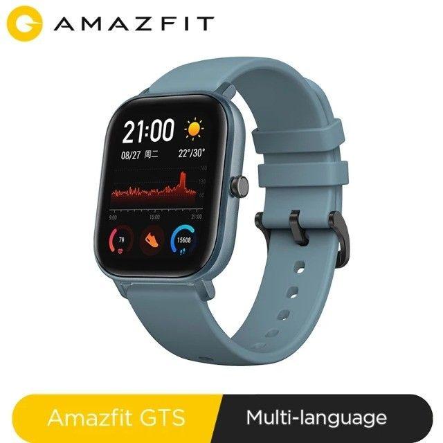 Relógio Smartwatch Xiaomi Amazfit Gts A1914 Lava Gray - Foto 5