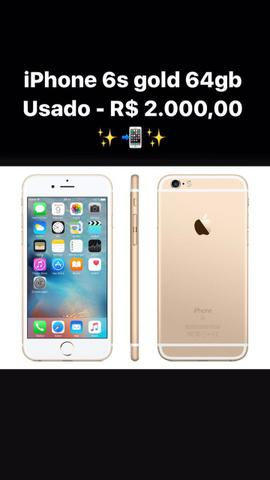 IPhone 6s Gold 64 gigas
