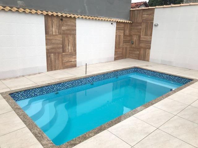 Piscina De Fibra Semi Pastilhada Rio Tigre 4 04 X 2 04 X 1 40
