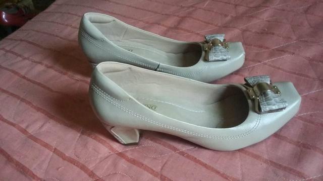 f842a2da8c Sapato salto baixo quadrado N 37  25 - Roupas e calçados - Recanto ...
