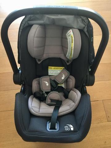Car Seat Baby Jogger City Go Infant Com Base E Adaptador