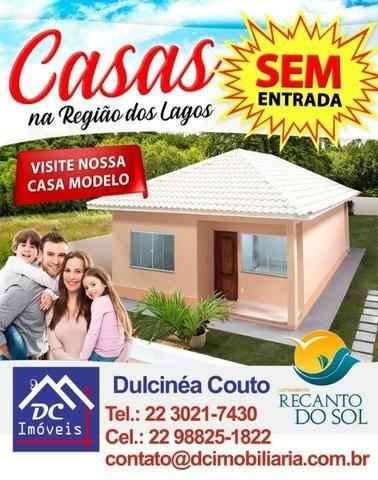 Casa 02 quartos s/01 suíte no bairro Iguaba- Com prestação a partir R$ 1.401,39