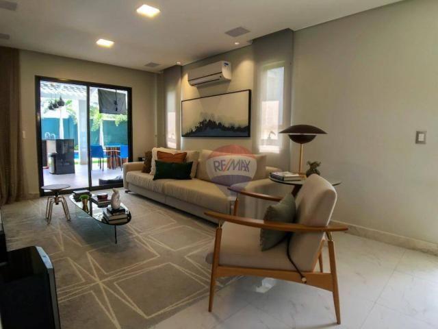 Casa com 3 dormitórios à venda, 337 m² por R$ 2.100.000 - Condomínio Alphaville Fortaleza  - Foto 13