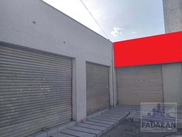 Loja para alugar, 290 m² por r$ 2.500,00/mês - pinheirinho - curitiba/pr