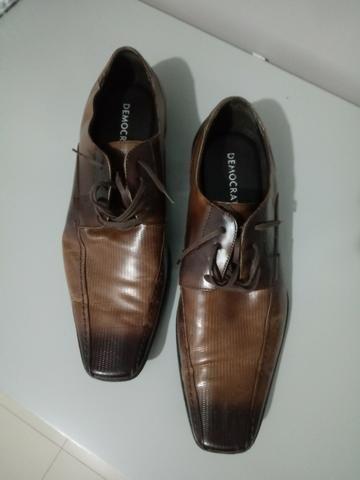Sapato social Novo - Marca Democrata - tamanho 42 - Foto 4