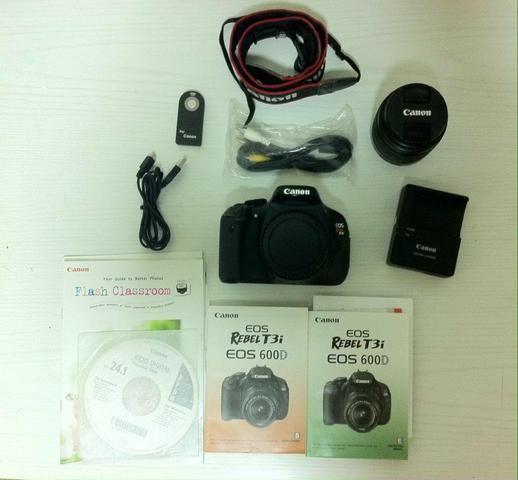 Câmera Canon T3i EOS REBEL