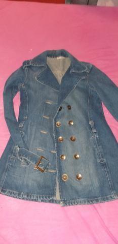Casaco jeans, tamanho P - Foto 2