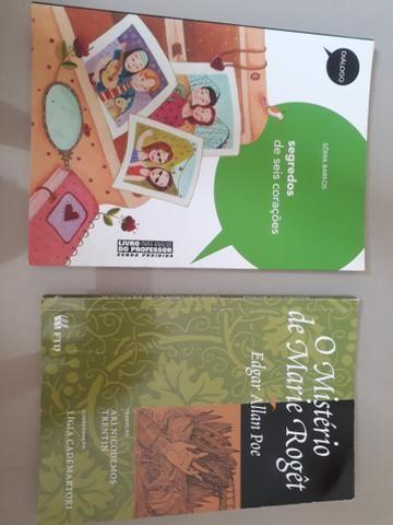 Livros variados cada um por 5 reais
