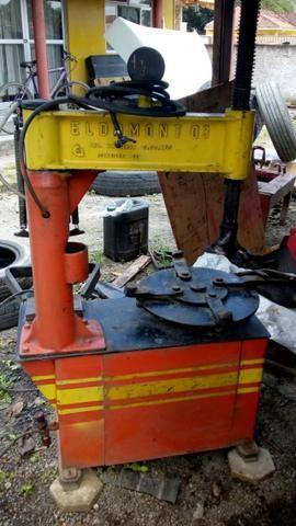 Maquina de desmontar pneu de carro e chave de impacto pneumática 01 polegada - Foto 3