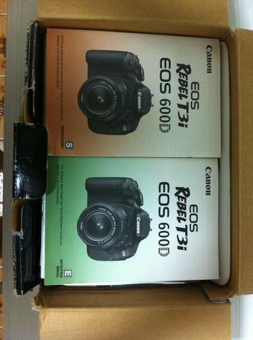 Câmera Canon T3i EOS REBEL - Foto 2