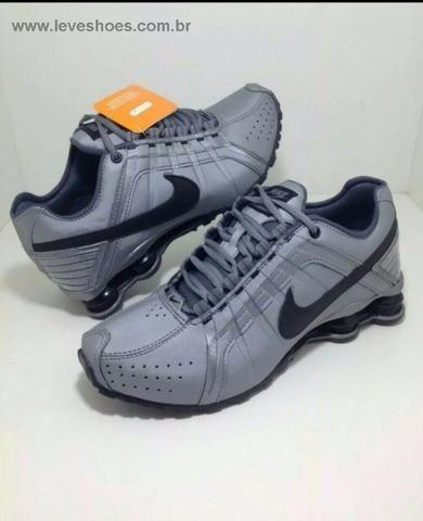 Tênis Nike Shox Júnior 4 Molas Masculino 189 - Foto 4