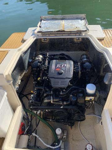 Lancha Fishing 265 - Mercruiser 5.0 V8 gasolina - Impecável - Foto 12