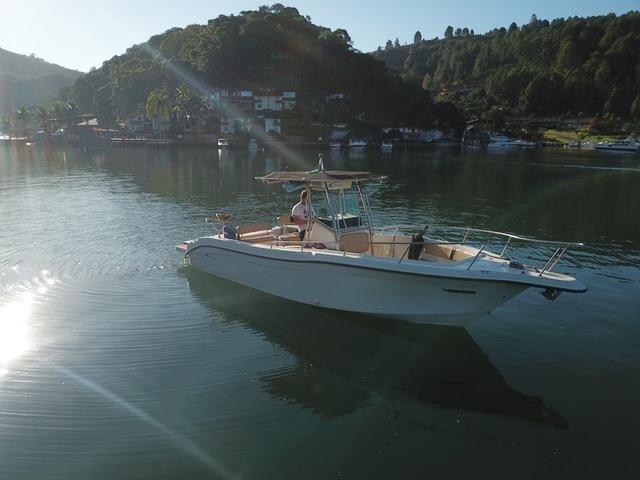 Lancha Fishing 265 - Mercruiser 5.0 V8 gasolina - Impecável - Foto 4