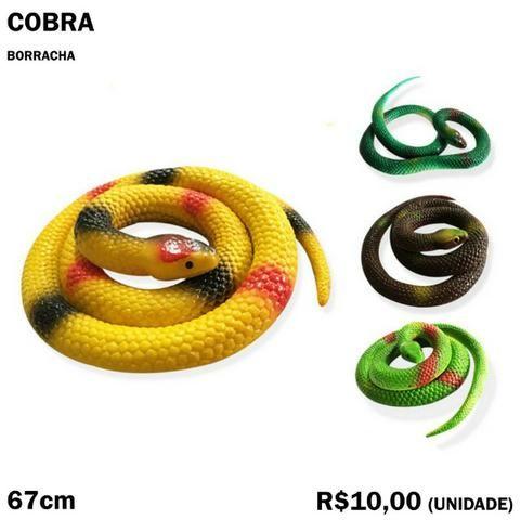 Cobra de Brinquedo Enroladas