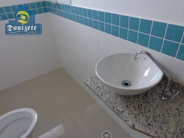 Sobrado residencial à venda, Vila Alzira, Santo André. - Foto 10