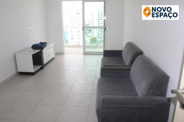 Apartamento com 2 dormitórios para alugar, 70 m² por R$ 1.000/mês - Centro - Campos dos Go - Foto 2