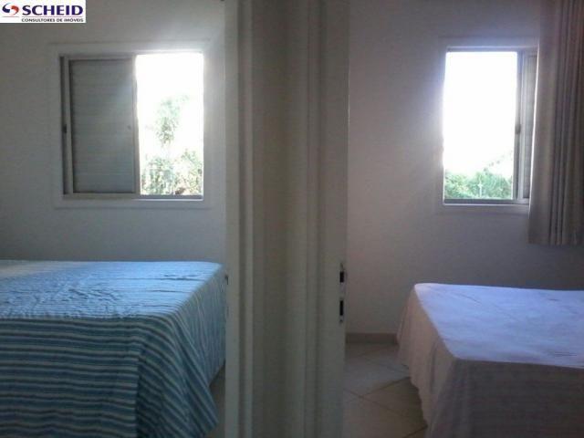 2 Dormitorios 1 banheiro social sala com varanda lazer completo. - Foto 4