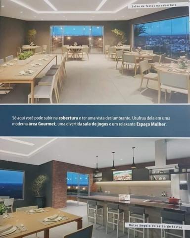 Lançamento View Residence Aptos 56m2 2 Dorms 1 Suíte Varanda Gourmet C/Churrasqu - Foto 3