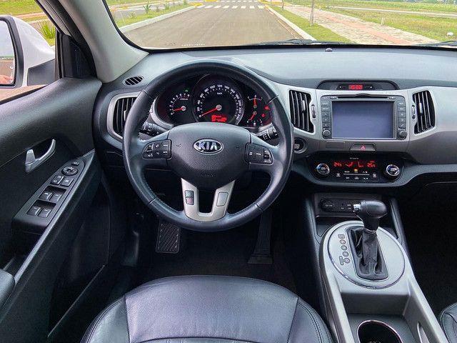 Sportage EX Top de Linha Teto Panorâmico Placa I - Ix35 Compass Renegade Corolla - Foto 13