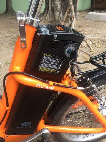 Bike elétrica Riu south novinha - Foto 3