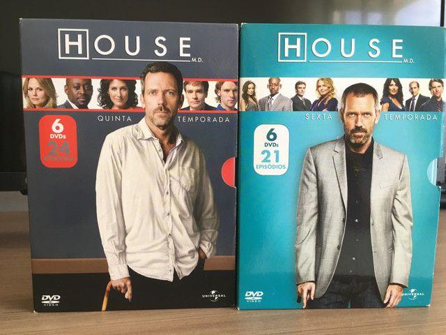 Coleção completa dvds House m.d - Foto 4