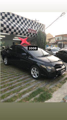 Honda Civic LXS 2008 - Top de linha - Foto 2