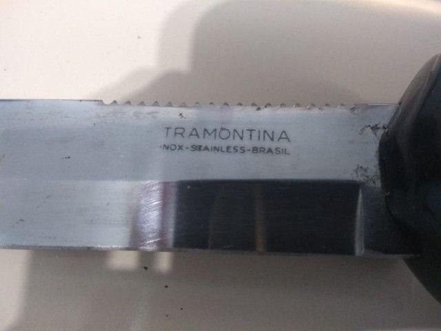 Faca de Mergulho Tramontina Inox - Foto 6