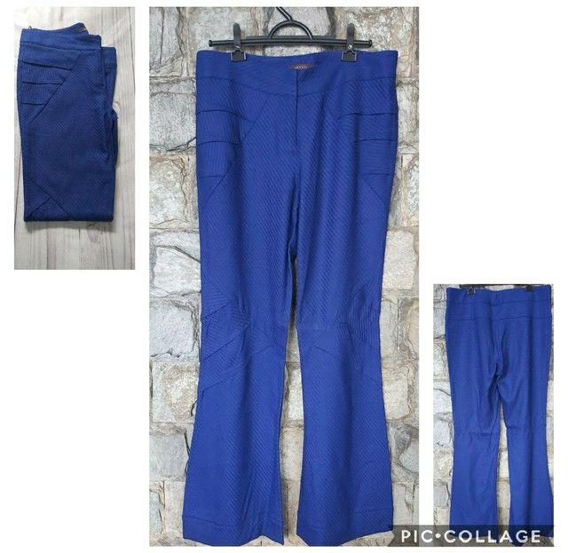 Calça Azul Encorpada  - Foto 2