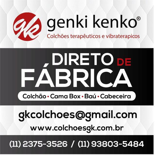 Cama Viúvo / Casal preço de fábrica 12 x R$ 39.90 - Foto 2
