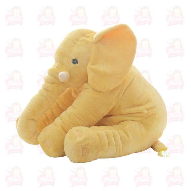 Almofadas para bebês elefante 60cm
