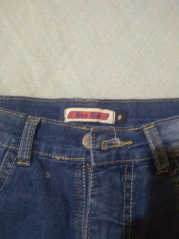 Bermuda jeans infantil - Foto 2