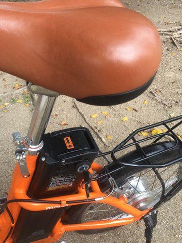 Bike elétrica Riu south novinha - Foto 4