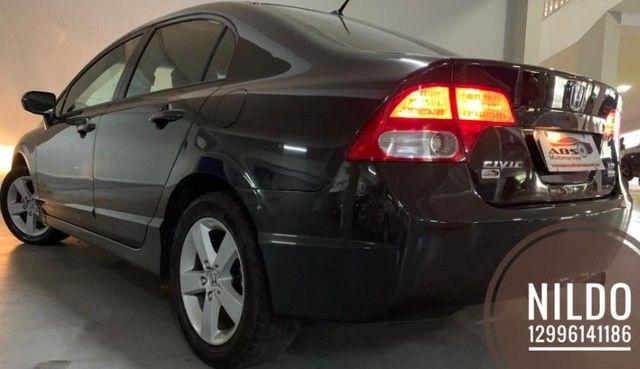 Civic LXS 1.8 2008 Zerado! Troco e financio! Chama no zap!  - Foto 3