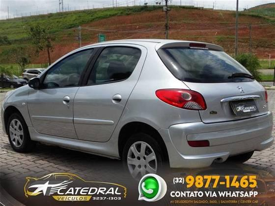 PEUGEOT 207 2011/2012 1.4 XR 8V FLEX 4P MANUAL - Foto 4