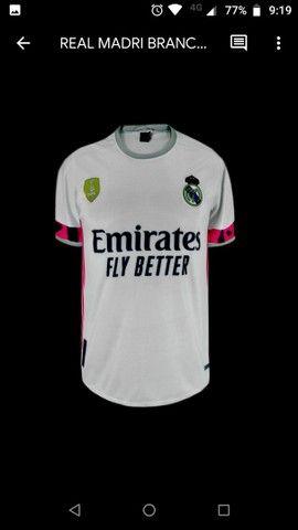 Camisa Time Europeu Internacional Camisas Clubes  - Foto 2