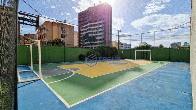 Apartamento com 3 dormitórios à venda, 93 m² por R$ 430.000,00 - Varjota - Fortaleza/CE - Foto 3