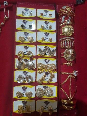 Vendo joias floreado a ouro  - Foto 5