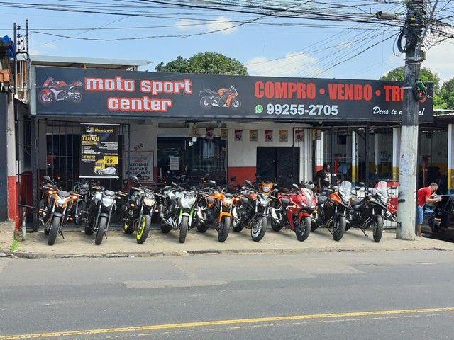 Motos de altas cilindradas aqui na moto sport center  tem