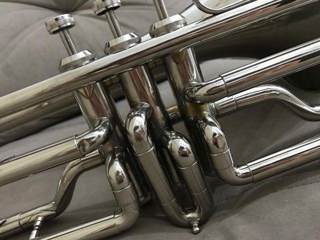 Trombone em sib shelter niquelado top