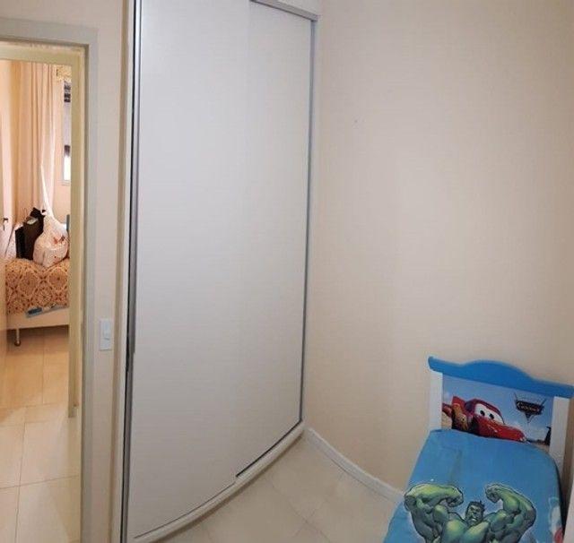 Apartamento com 3 quartos semi mobiliado_no_Fazendinha  - Foto 14