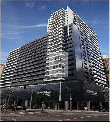 Apartamento com 1 dormitório para alugar, 48 m² por R$ 1.300,00/mês - Bigorrilho - Curitib