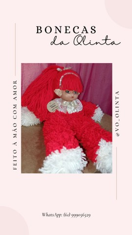 Bonecas da Olinta  - Foto 5