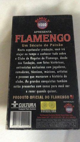 Fita Cassete - Flamengo - Um Século de Paixão - Foto 3