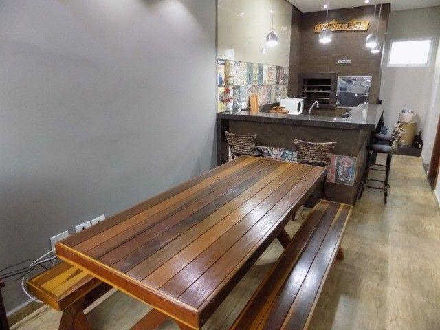Conjunto de mesa com bancos 2mt em promoção - Foto 5