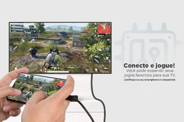 Cabo Adaptador Usb 3.1 Tipo C Para Vga - Notebook Macbook Smartphone - Foto 5